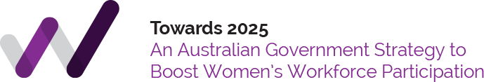 Towards 2025 - A strategy to boost Australian Women's Workforce Participation